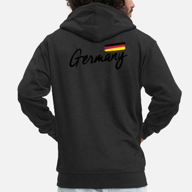 Federal Republic Of Germany Germany - Germany - Federal Republic of Germany - Men's Premium Zip Hoodie