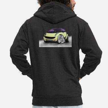 Photo Montage Car tuning, cars, photo montage, Cars - Men's Premium Zip Hoodie