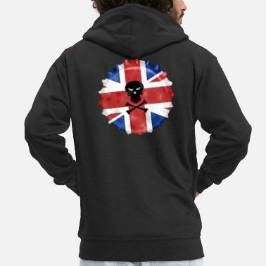 Great Britain Great Britain - Männer Premium Kapuzenjacke