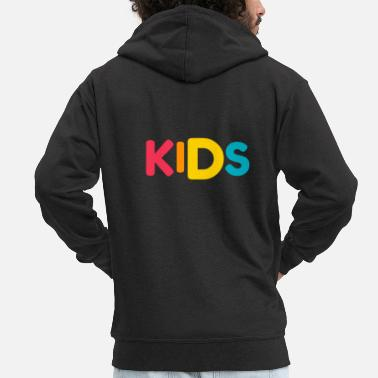 Children children - Men's Premium Zip Hoodie