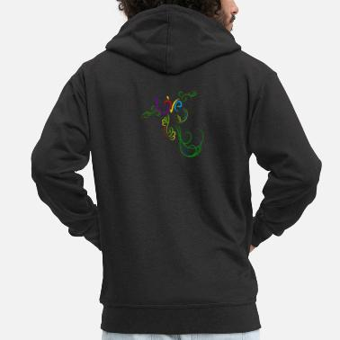 Tribute A tribute to love - Men's Premium Zip Hoodie