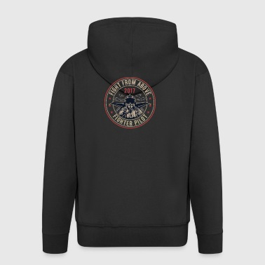 Death From Above2 - Men's Premium Hooded Jacket