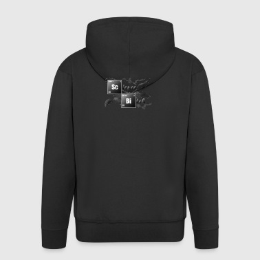 Science Bitch - Men's Premium Hooded Jacket