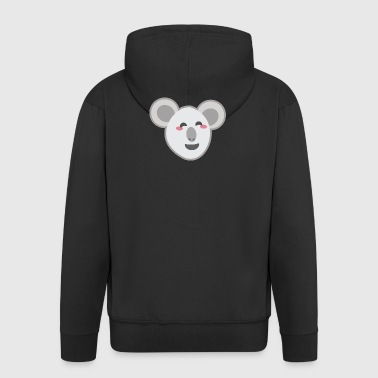Kawaii Koala - Men's Premium Hooded Jacket