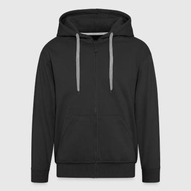Horse Jump - Men's Premium Hooded Jacket