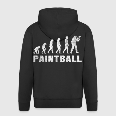 Evolution de paintball 2.0 - T-shirt paintball - Veste à capuche Premium Homme