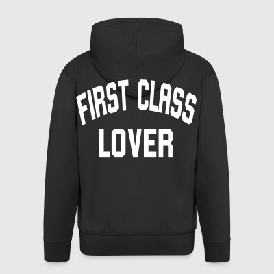 First Class Lover - Men's Premium Hooded Jacket