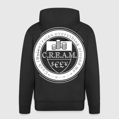CREAM - Men's Premium Hooded Jacket