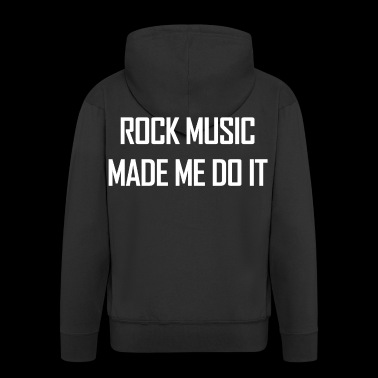 Rock Music. Gifts for Rock Singers & Fans.Musician - Men's Premium Hooded Jacket
