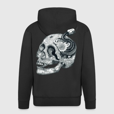 scull - Men's Premium Hooded Jacket