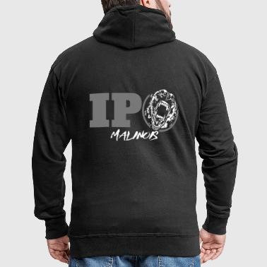 IPO MALINOIS - Belgian Malinois - Men's Premium Hooded Jacket
