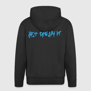 Just Dream IT Paint - Männer Premium Kapuzenjacke