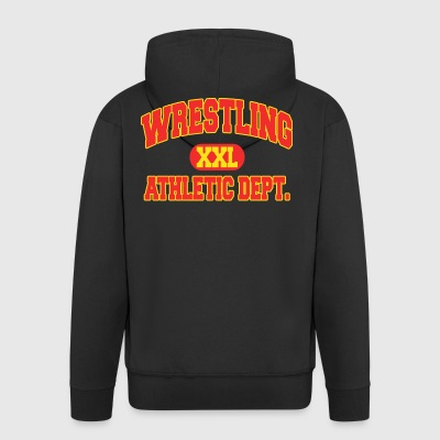 Wrestling Athletic Department - Männer Premium Kapuzenjacke