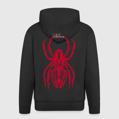 spider11rot - Men's Premium Hooded Jacket