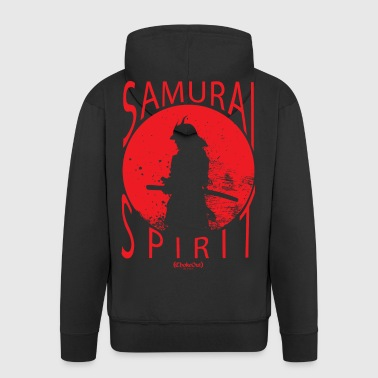 Samurai Spirit - Men's Premium Hooded Jacket