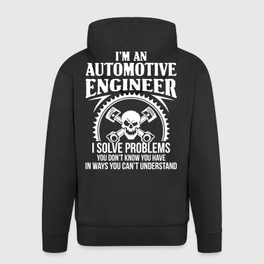 Automotive Engineer - car-auto - Men's Premium Hooded Jacket