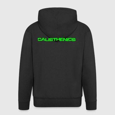 Calisthenics green - Men's Premium Hooded Jacket