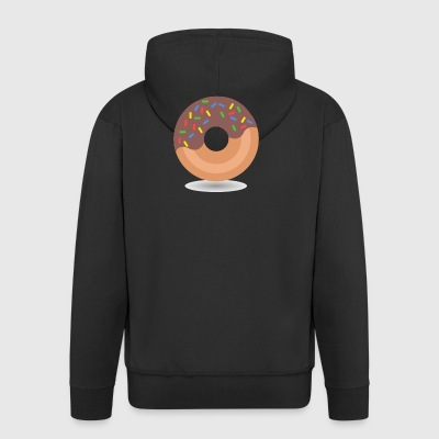 donut - Men's Premium Hooded Jacket