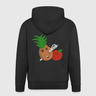 Pen Pineapple Apple Pen - Men's Premium Hooded Jacket