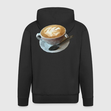 Nice coffee cup! Gift idea coffee caffeine - Men's Premium Hooded Jacket