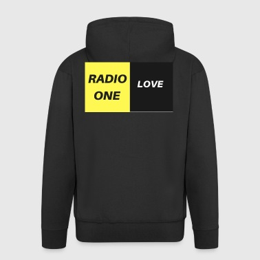 RADIO ONE LOVE - Men's Premium Hooded Jacket
