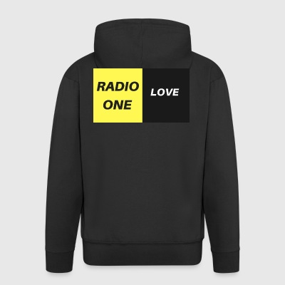 RADIO ONE LOVE - Felpa con zip Premium da uomo
