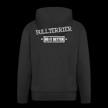 bullterrier - Men's Premium Hooded Jacket