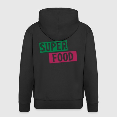 Superfood - Men's Premium Hooded Jacket