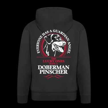GUARDIAN ANGEL Dobermann - Premium Hettejakke for menn