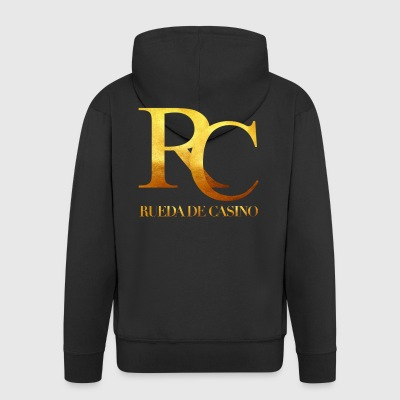Rueda de Casino Gold - Salsa Dance Shirt - Men's Premium Hooded Jacket