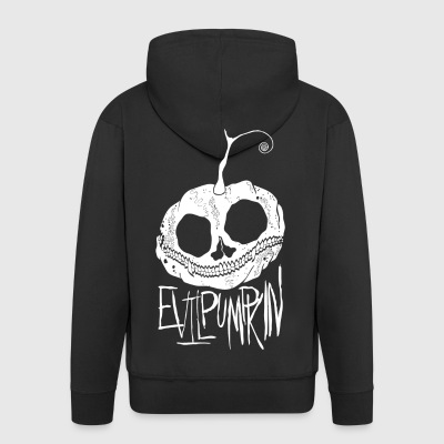 Evil Pumpkin - Men's Premium Hooded Jacket