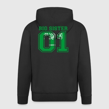 Big Sister big sister 01 Saudi Arabia - Men's Premium Hooded Jacket