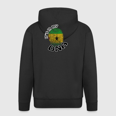 Gift Its in my dna dns roots Sa o Tome and Pr - Men's Premium Hooded Jacket