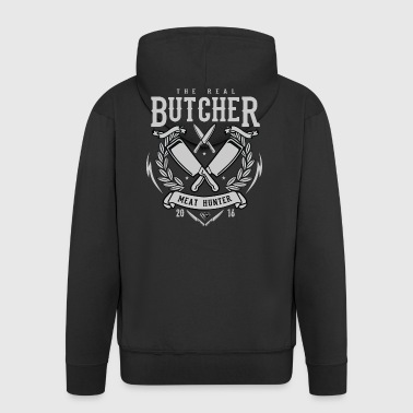 The Real Butcher Meat Hunter - Männer Premium Kapuzenjacke