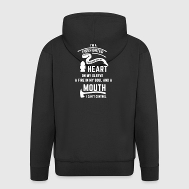 I'M A FIREFIGHTER - Men's Premium Hooded Jacket