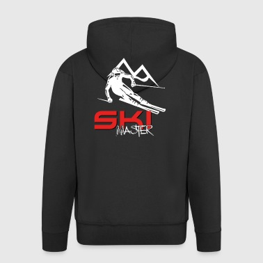Skimeister - ski pro - ski rider - Men's Premium Hooded Jacket