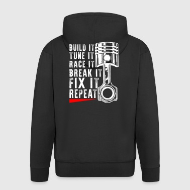 Tuning Gift - Tuner Design - Men's Premium Hooded Jacket
