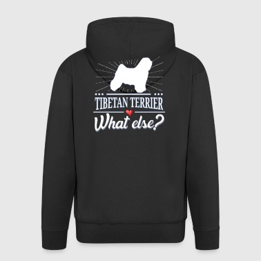 Tibetan Terrier what else? Tibetan Terrier - Men's Premium Hooded Jacket