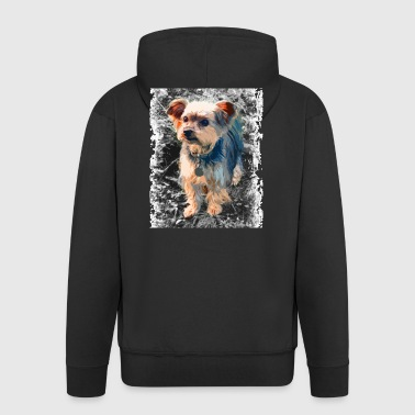 Yorkshire Terrier - Men's Premium Hooded Jacket