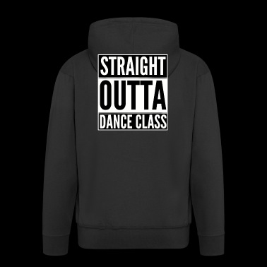 Straight outta class white - Men's Premium Hooded Jacket