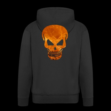 Skull, Death, Death - Men's Premium Hooded Jacket