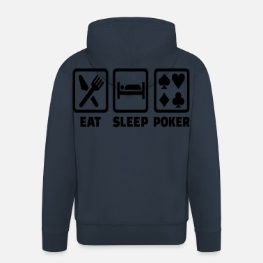 Holdem Spis Sleep Poker Funny Poison Texas Holdem - Premium Hettejakke for menn