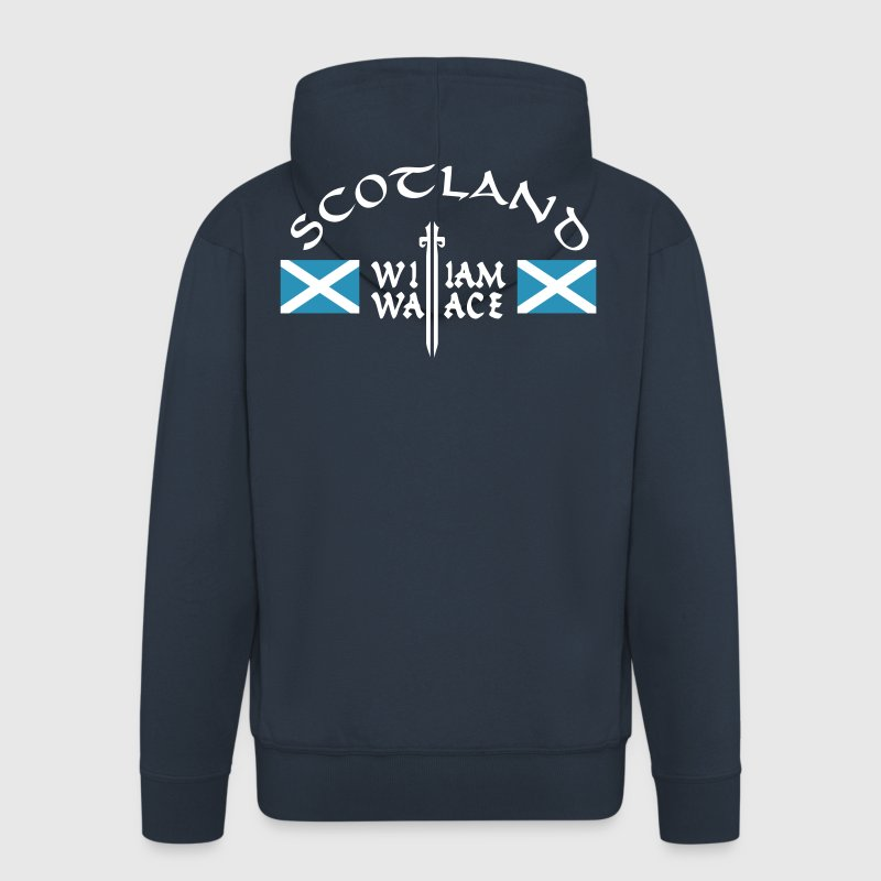 Scotland William Wallace - Männer Premium Kapuzenjacke