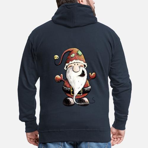 bacabb932ea3 Sweet Weihanchtsmann Christmas Gnome Gift Men s Premium Zip Hoodie ...