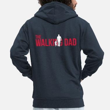 Walking Dad The Walking Dad - Father and daughter - Männer Premium Kapuzenjacke
