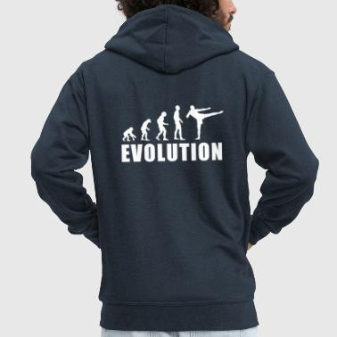 EVOLUTION KICKBOX - Men's Premium Hooded Jacket