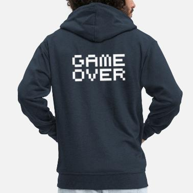 Game Over Game over / game over pixels - Veste à capuche Premium Homme