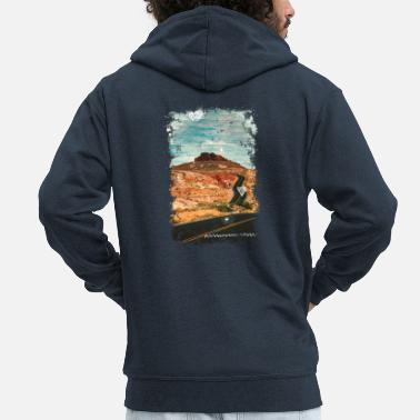 Outback Outback - Men's Premium Zip Hoodie