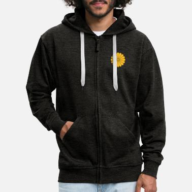 Pattern chrysanthemum - Men's Premium Zip Hoodie