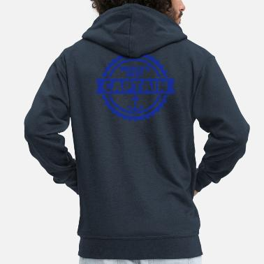 Captain Captain - Men's Premium Zip Hoodie